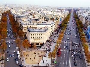 Центральные улицы Парижа