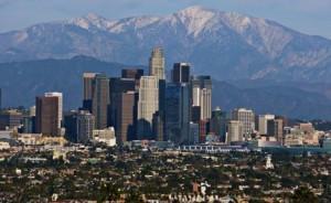 Лос-Анжелес пейзаж