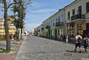 Улица Гродно