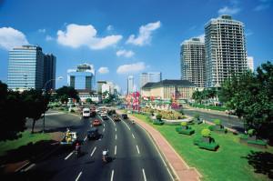 Улица Индонезии