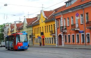 Улица с трамваем