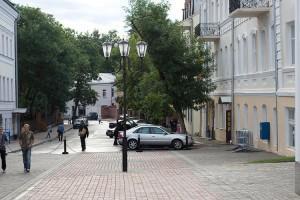 Улица Толстого в Витебске