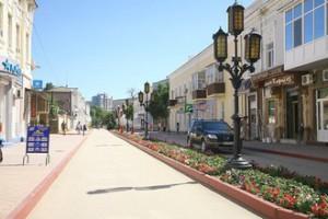 Улицы курорта Феодосии
