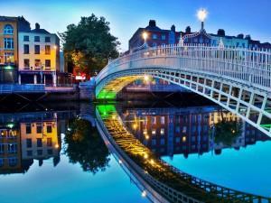 Вечер в Дублине