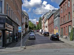 улица в Орхусе