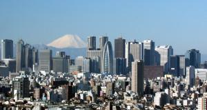 Небоскрёбы в Токио