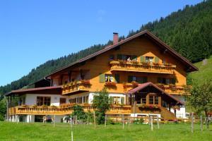 дом в Альпах