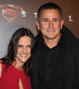 Энтони Лапалья с женой