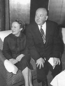 Хичкок с женой