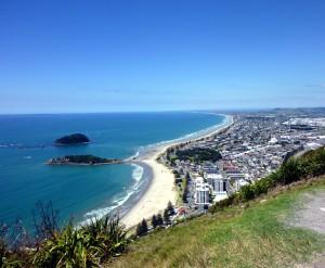Залив в Новой Зеландии