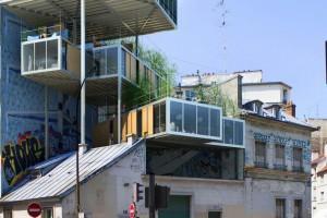 дома на крышах