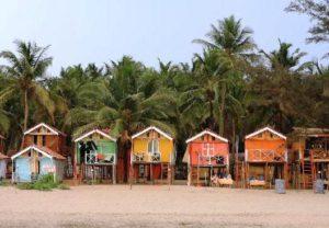 Бамбуковые домики