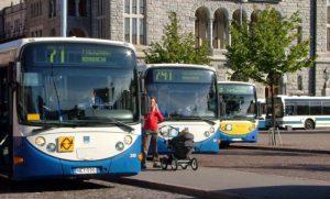 автобусы в Хельсинки