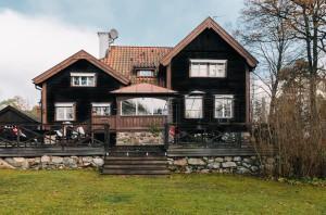Дом в Швеции