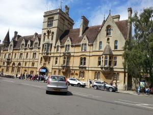 Вступительная кампания в Оксфорде