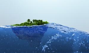 Остров плавает