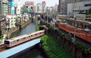 транспорт Токио
