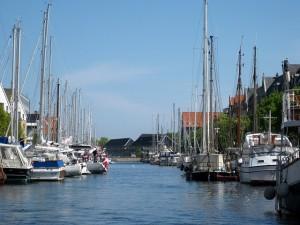 порт в Дании