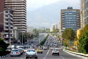 Тегеран, дорога