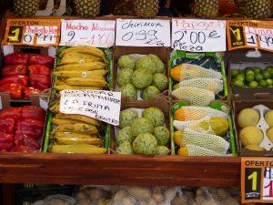 овощи в Мадриде
