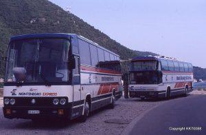 транспорт в Черногории