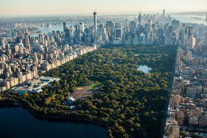 Центральный парк Нью-Йорке