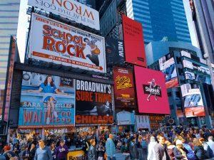 развлечения в Нью-Йорке